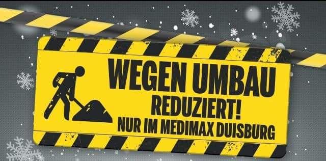 [Nur Lokal] Duisburg MediMax 20% tv auf alle vorrätige Geräte