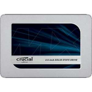 "Interne SSD 2.5"" Crucial MX500 (3D TLC) - 500 GB bis 126.98€, 1 TB bis 235.76€, 2 TB bis 456.64€"