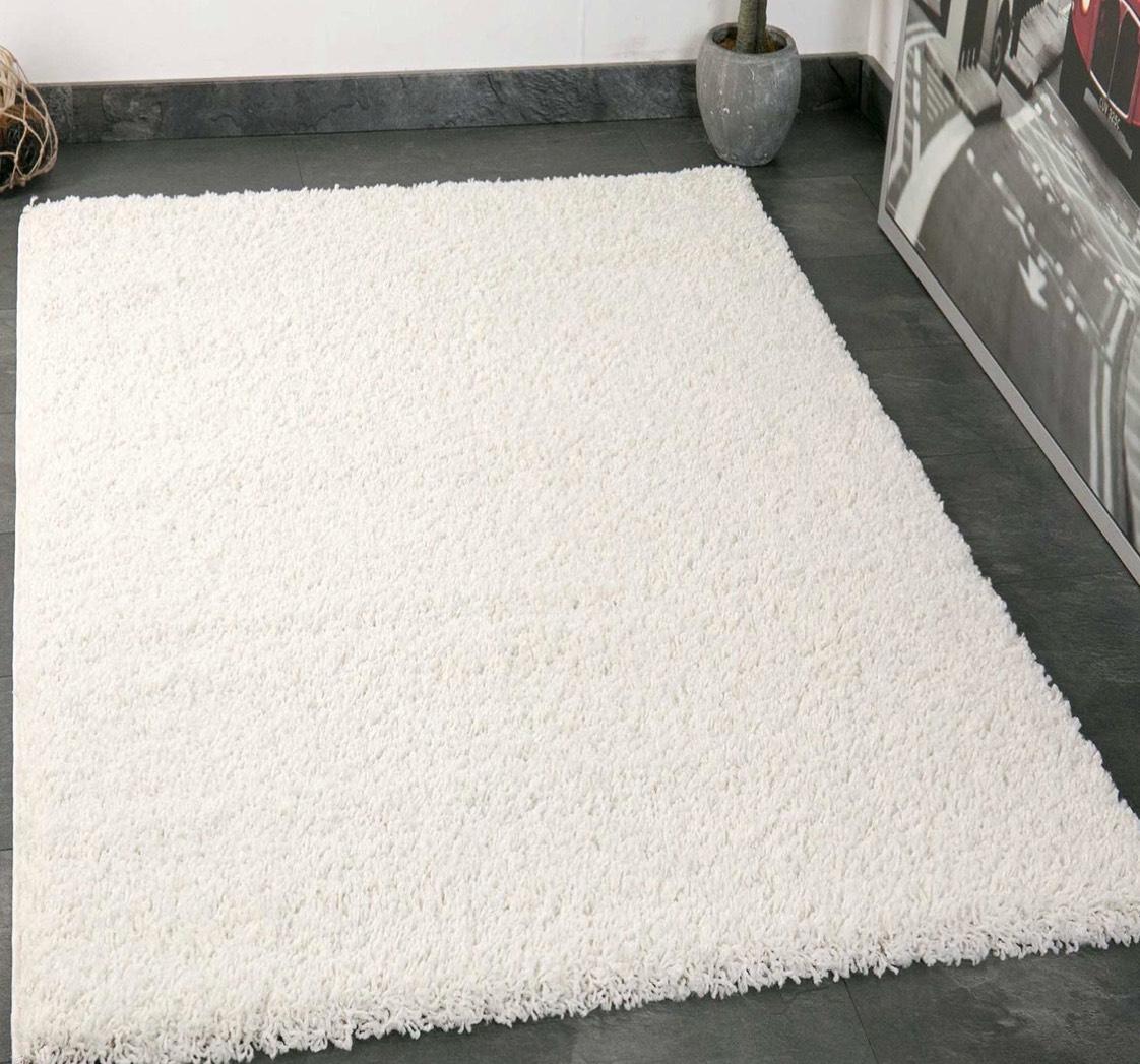 Langflor Teppiche Modern für Wohnzimmer Schlafzimmer - VIMODA, Maße:40x60 cm