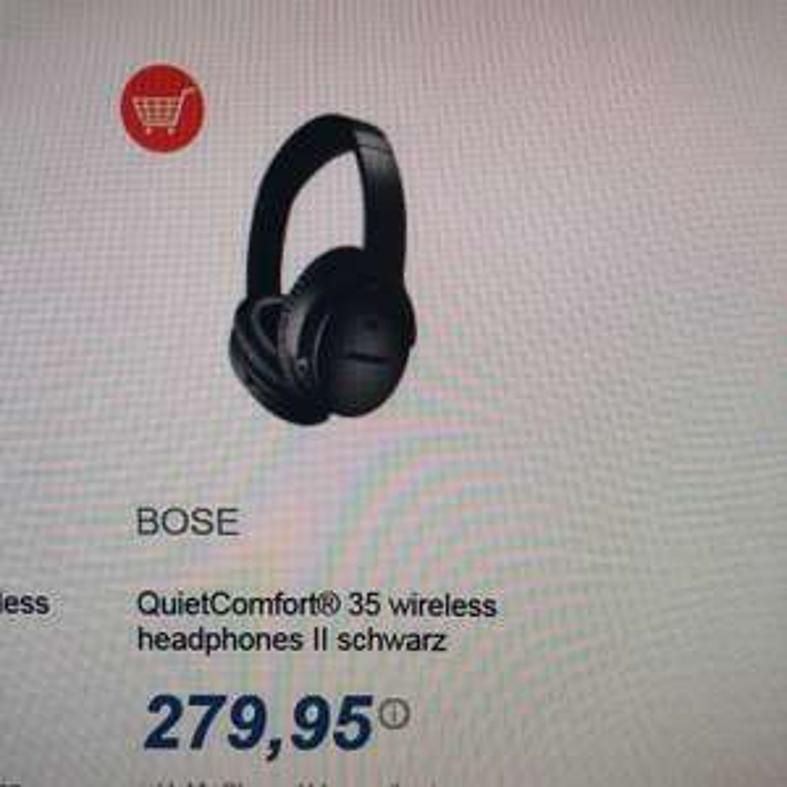 Bose QC35II | online verfügbar mit Versand (expert Oehler 77694 Kehl) [wieder da]