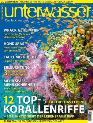 Unterwasser Magazin Abo (12 Ausgaben) für 19,95€