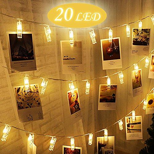 [Amazon Prime] LED Foto Clip Lichterkette