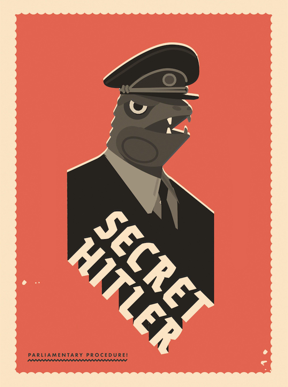 Secret Hitler (Spiel, Kartenspiel, Brettspiel) gratis zum selbst drucken