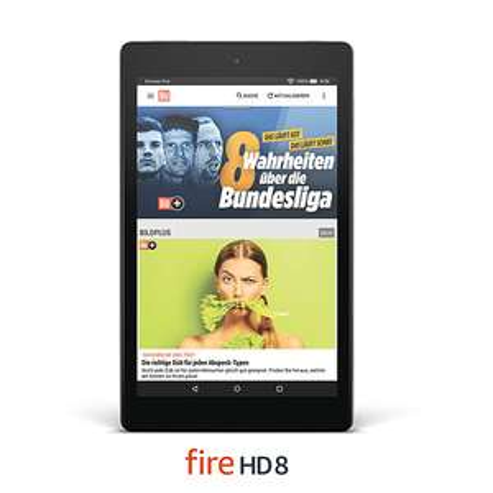 Amazon Fire HD 8 Tablet mit  24 Monate BILDplus
