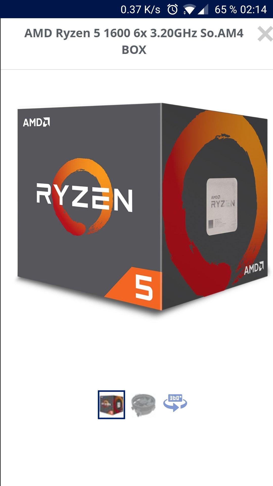 AMD ryzen 5 1600 bei Mindfactory reduziert