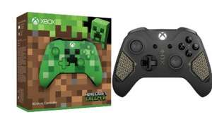 "[Saturn] MICROSOFT Minecraft Creeper SE Xbox One Wireless, Controller, ""Creeper""-Design oder MICROSOFT SE Recon Tech Xbox Wireless, Controller, Schwarz/Gold für je 42,-€"