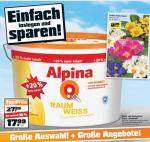 Alpina Raum Weiß Wandfarbe +20% mehr Inhalt 12L [NUR LOKAL NÜRNBERG??]