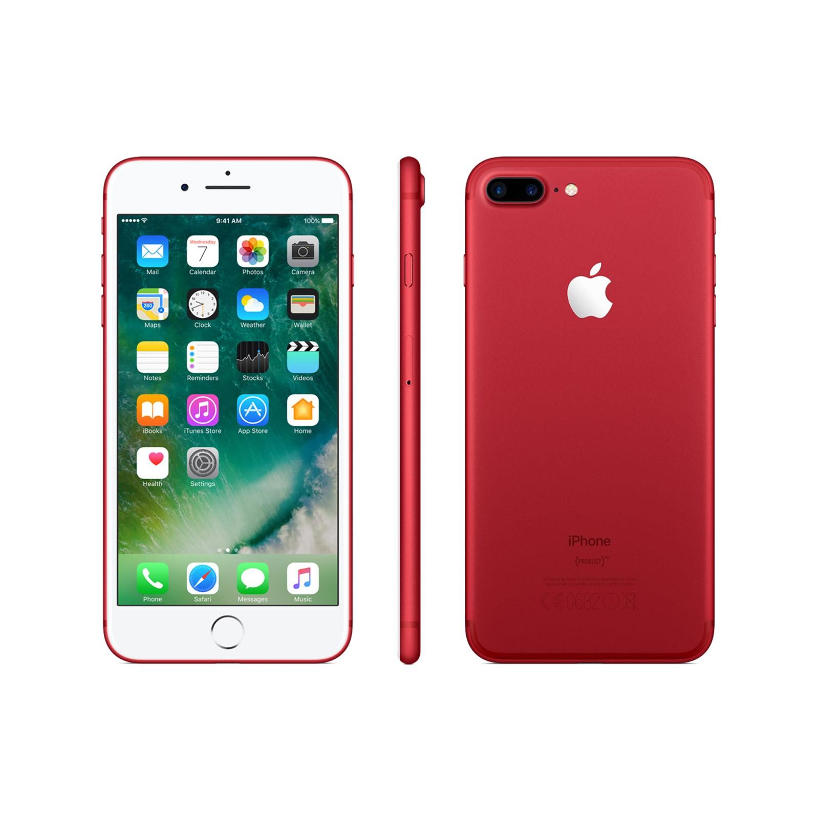 APPLE iPhone 7 Plus Red 128GB im Telekom Comfort Allnet für 31,99€ mtl.