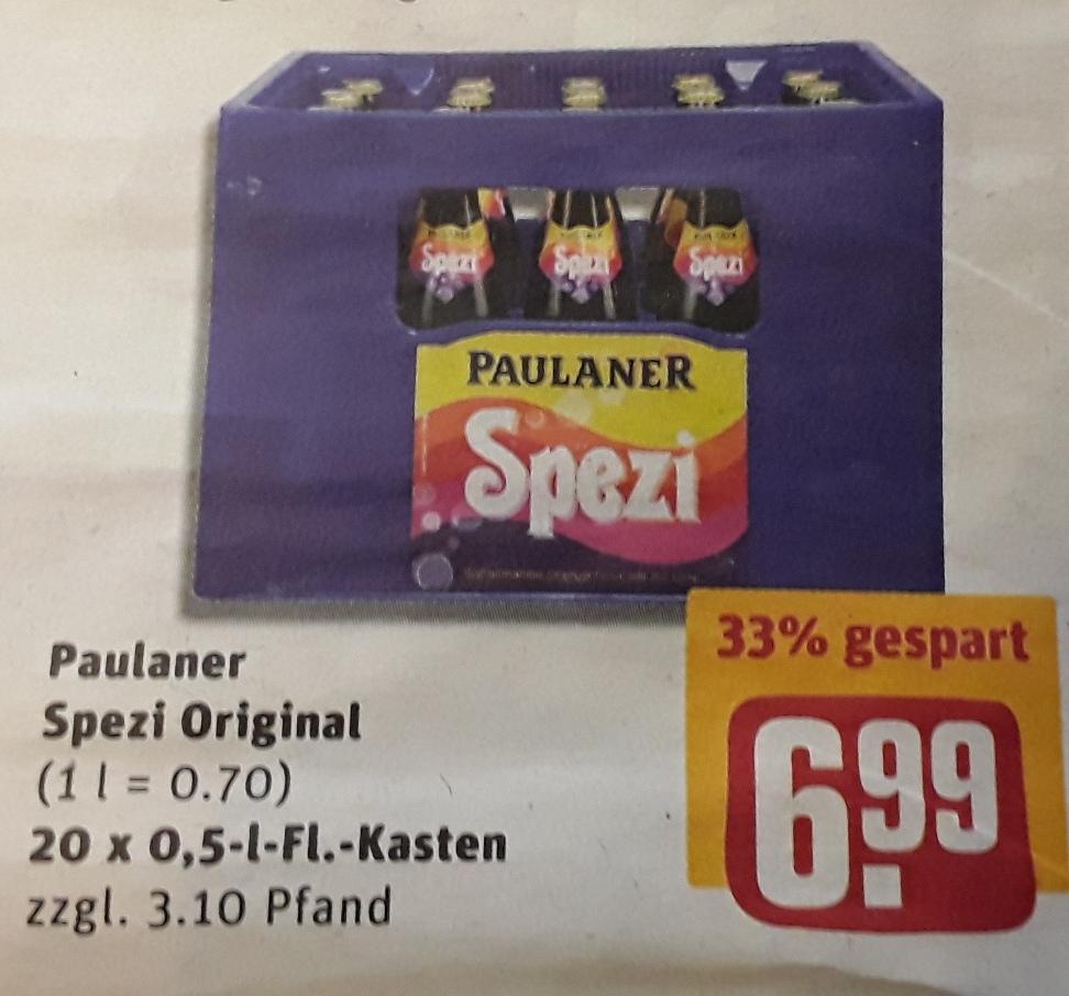 (Lokal?) Paulaner Original Spezi - Kasten für 6,99€ (zzgl. Pfand) @ Rewe-Center Bayern vom 8.3.-10.3.1