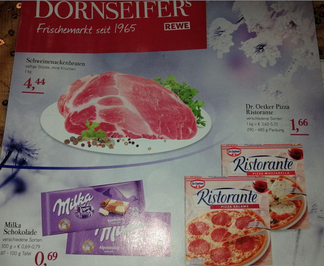 [Dornseifer] Dr. Oetker Ristorante Pizza für 1,66 €