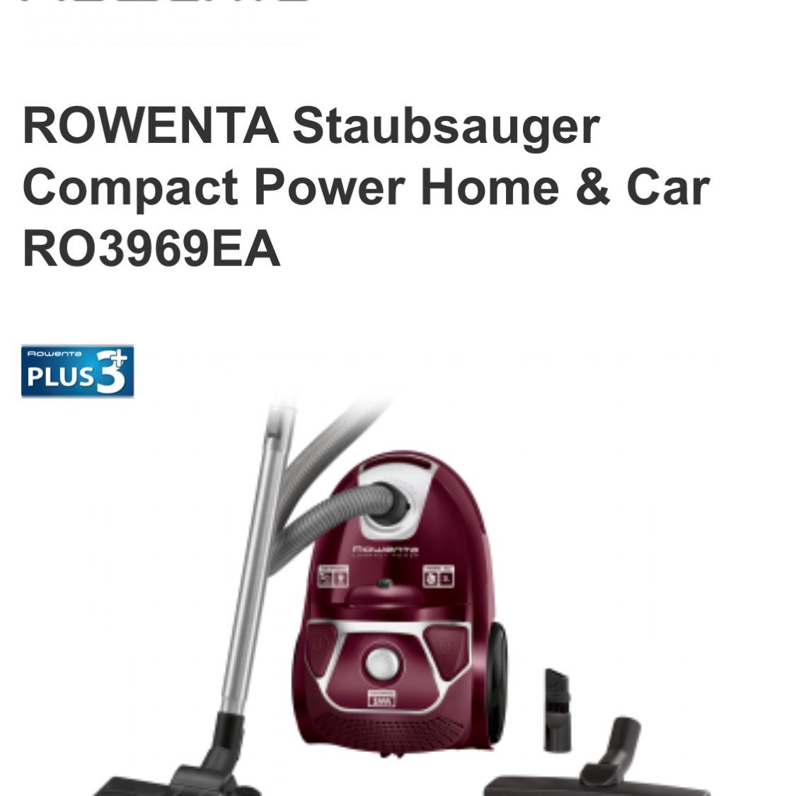 Rowenta Staubsauger RO3969 | online und Lokal (77694 Kehl)