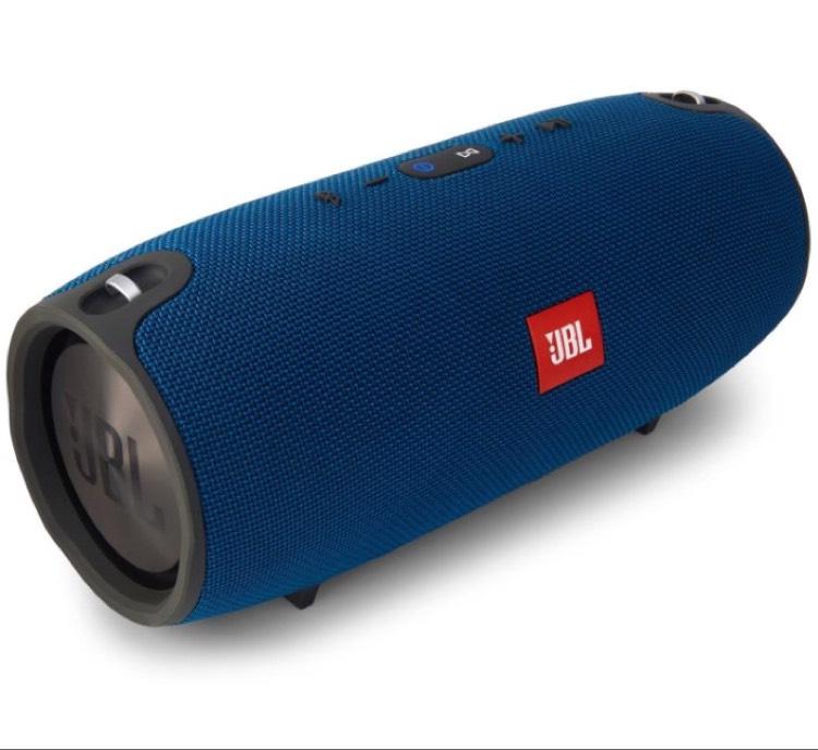 JBL Xtreme blau & rot für 199 Euro