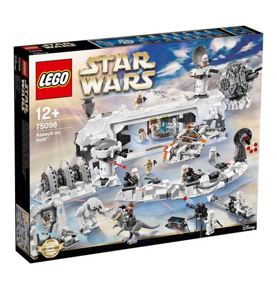 Kaufhof-Sonntagsangebote: Lego Assault on Hoth 75098 und andere (u.a. Riesenrad 10247, Big Ben 10253, Snowspeeder 75144, Geländefahrzeug 42069)