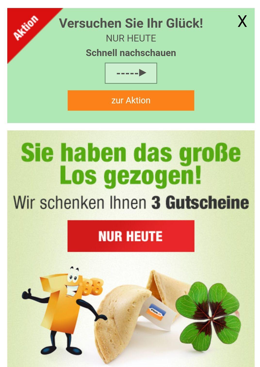 Bis zu 50€ Rabatt auf (fast) alles bei Plus.de