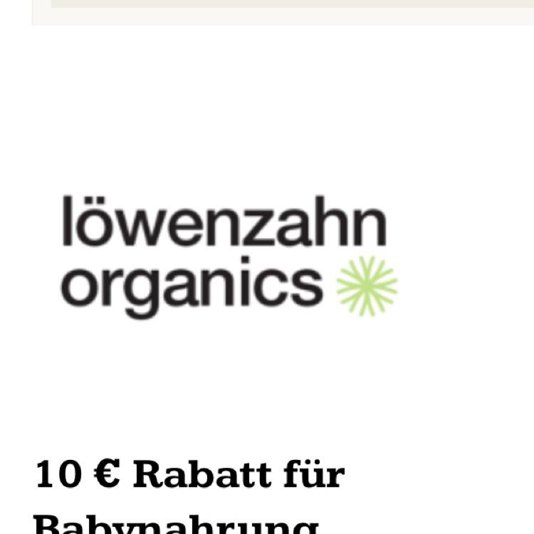 Löwenzahn organics - 10 EUR Rabatt ab 30 EUR