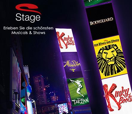 [VENTE-PRIVEE] Stage-Musicals mit Rabatt: Bodyguard, Aladdin, König der Löwen, Tarzan, Kinky Boots