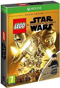LEGO Star Wars: Das Erwachen der Macht Deluxe Edition inkl. Season Pass + First Order General (Xbox One) für 23,49€ (Amazon ES)