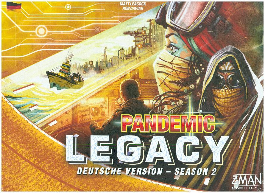 Pandemic Legacy 2 - gelb für bis zu 37,99€ - Brettspiel/Boardgame/Gesellschaftsspiel - Hugendubel - Besonders interessant für diejenigen mit Groupon-Gutschein für Hugendubel aus dem November