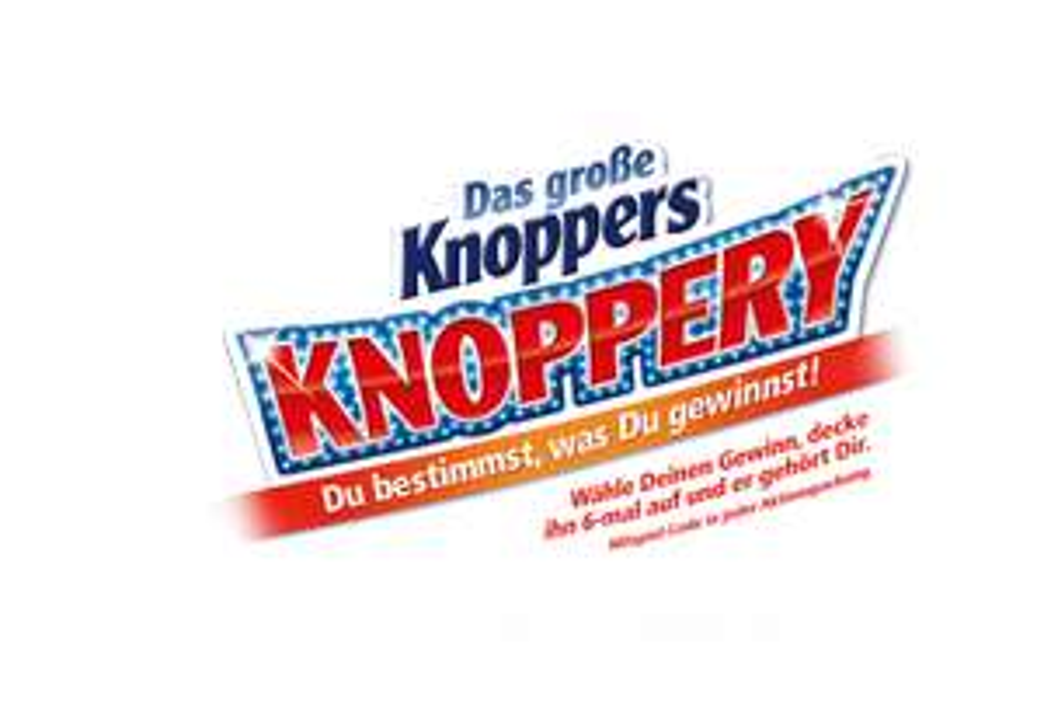 5€ Eventim Gutschein mit einem MBW von 49€ als sicherer Sofortgewinn @ Knoppers Aktionspackung