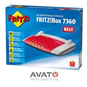 AVM FRITZ!Box 7360 VDSL VoIP Modem Router *2 Jahre Gewährleistung*