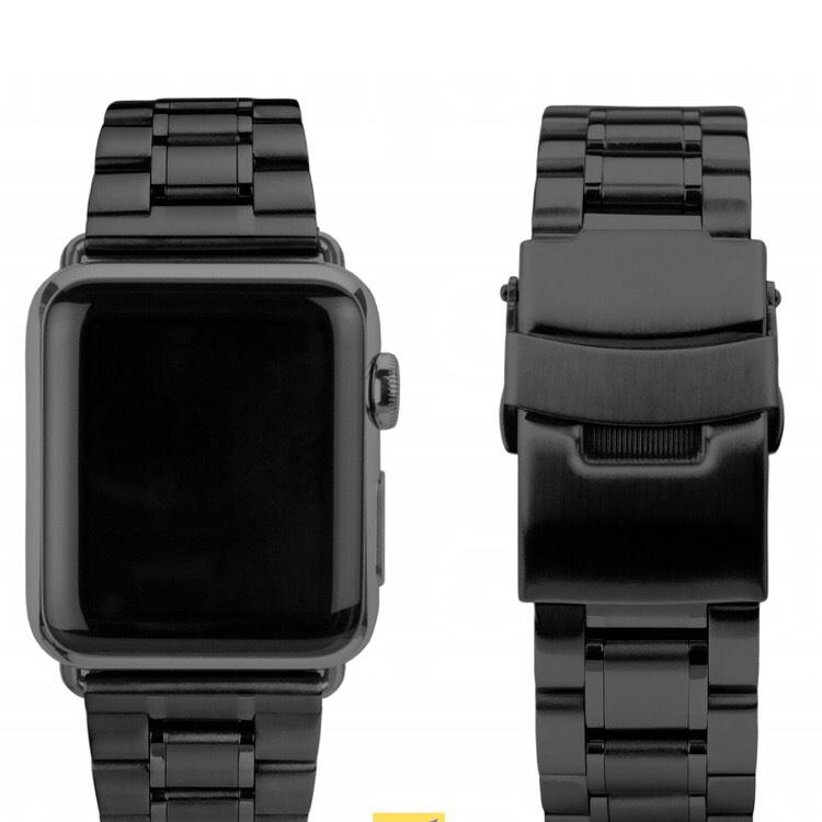[TECHNIKdirekt] CASEual verschiedene Steel/Leather 38 mm Bänder für Apple Watch + VSK 5,99€