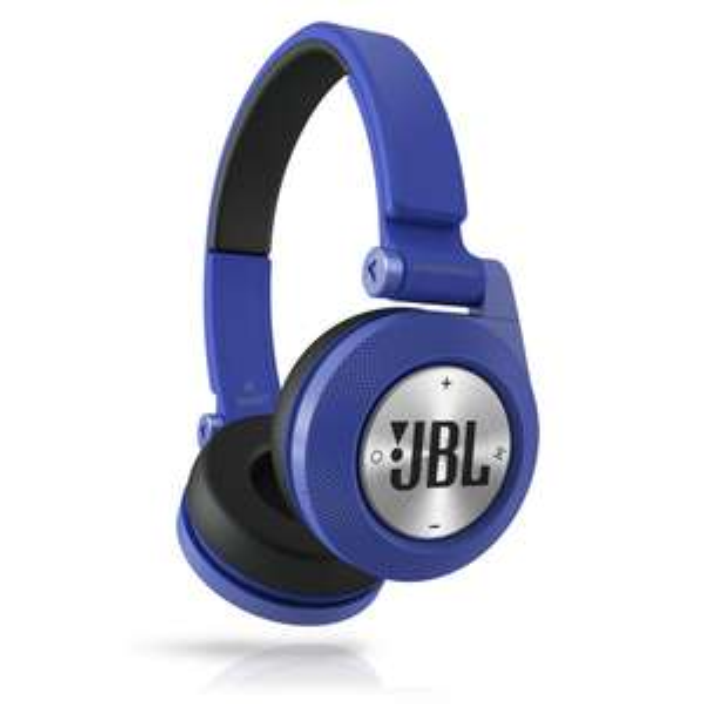 JBL Synchros E40BT (blau) - Bluetooth On-Ear-Kopfhörer (Fernbedienung/Mikrofonsteuerung, 16 Std. Akku)