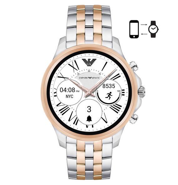 [Galeria] Emporio Armani Connected Smartwatch Herrenuhr ART5001