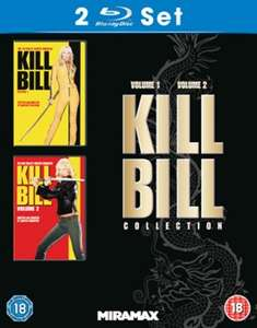 Kill Bill: Volume 1 + 2 (Blu-ray) für 9,20€