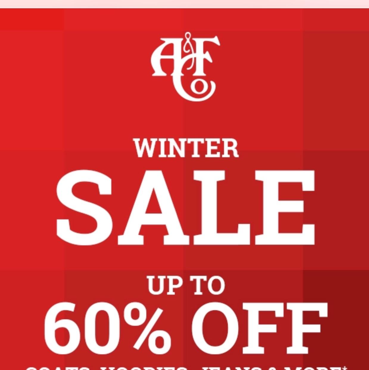 Bis zu 60% Sale bei Abercrombie&Fitch