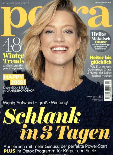 Petra Zeitschrift Abo (10 Ausgaben) für 25,50 € mit 25€ Verrechnungsscheck