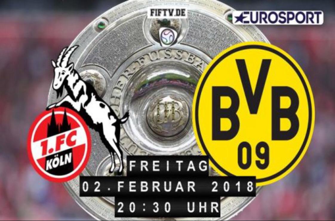 1. Fc Köln - Borussia Dortmund kostenlos im Live TV [auch in 4K Auflösung auf UHD1]