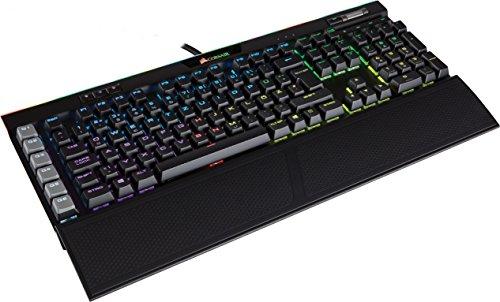 [Amazon Dreamhack Aktion] Corsair K95 RGB Platinum Mechanische Gaming Tastatur (Cherry MX Speed, Multi-Color RGB Beleuchtung, QWERTZ) schwarz