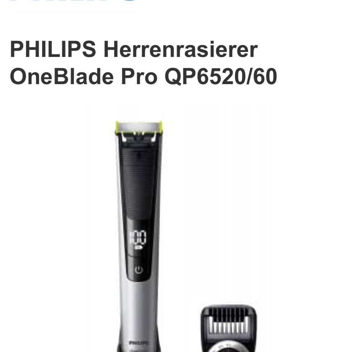 QP6520/60 Bart und Haarschneider Online Versand und Lokal