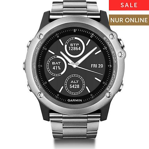 Garmin Smartwatch Fenix 3 Sapphire Titanium (+ 14% Shoop möglich) [Christ.de]