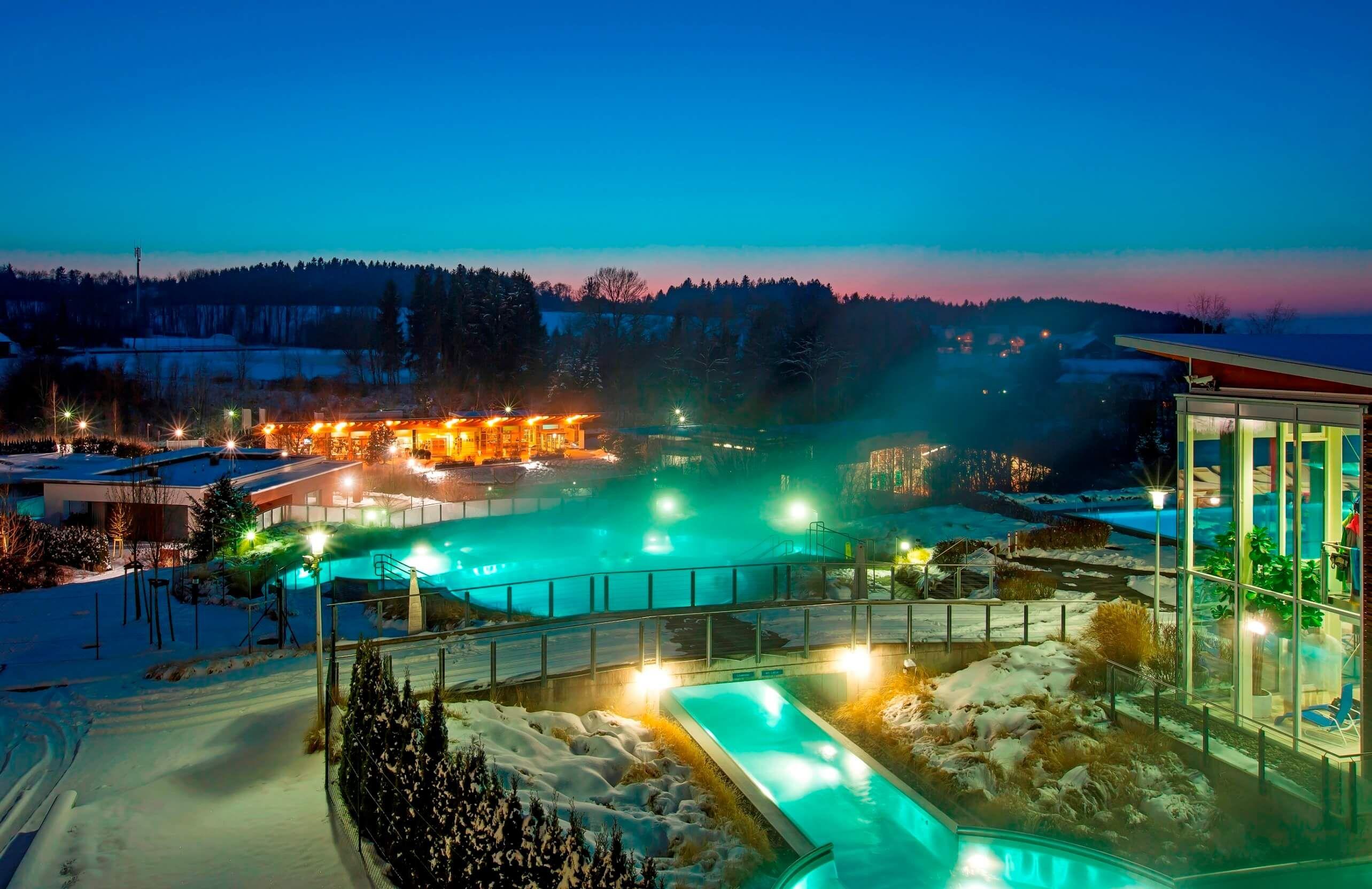 [Juni bis August] 4 Sterne Resort Therme Geinberg (Österreich) inkl. 2 Tageseintrite in die Therme (Wert: 240€) inkl. Frühstück für 79.50 € p.P.