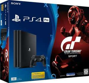 Sony PlayStation 4 Pro - 1TB, GT Sport Bundle, schwarz