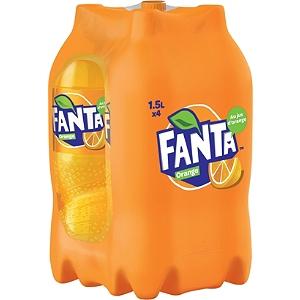 [Grenzgänger FR] 4 1,5-Liter-Flaschen Fanta Orange für 2,70 € bei E. Leclerc - 0,45 € pro Liter
