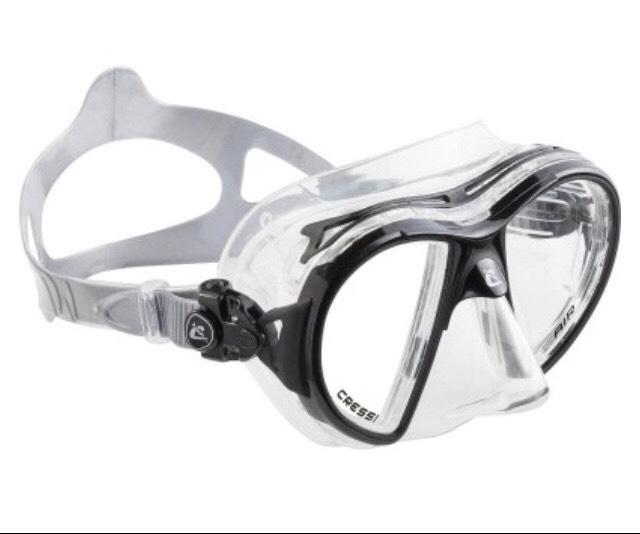 Cressi Air Crystal Tauchermaske Doppelglas [Decathlon Online und Lokal]