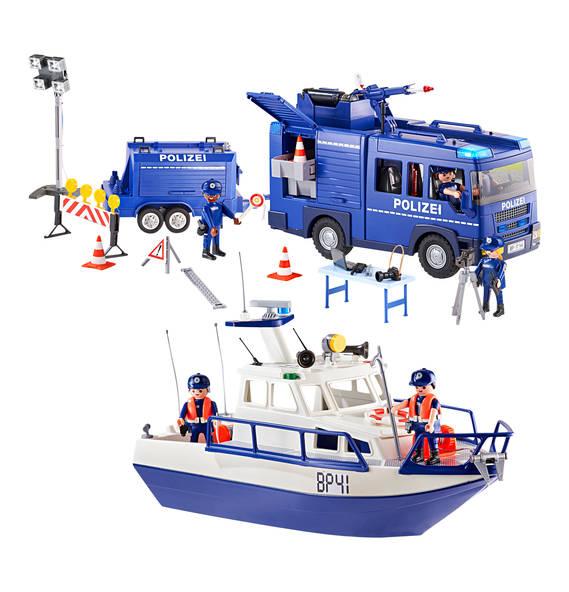 Playmobil City Action  Bundespolizei - Großeinsatz 9400 -@Galeria Kaufhof online