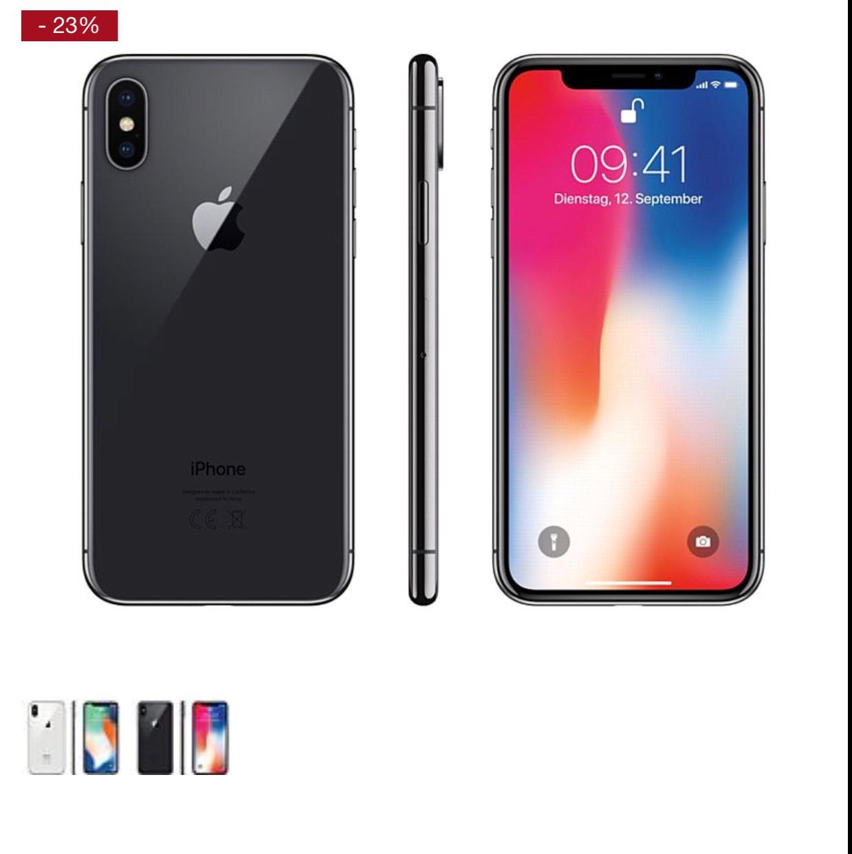 Apple IPhone X 256 GB in beiden Farben bestellbar