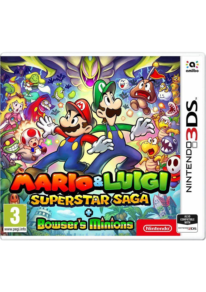 Mario & Luigi: Superstar Saga + Bowsers Schergen (3DS) für 25,61€ (SimplyGames)