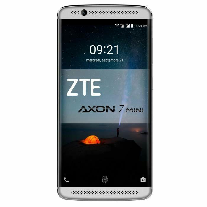 "Smartphone 5.2"" ZTE Axon 7 Mini - Amoled FHD, RAM 3 GB, ROM 32 GB, Snapdragon 617, Grau oder Gold"