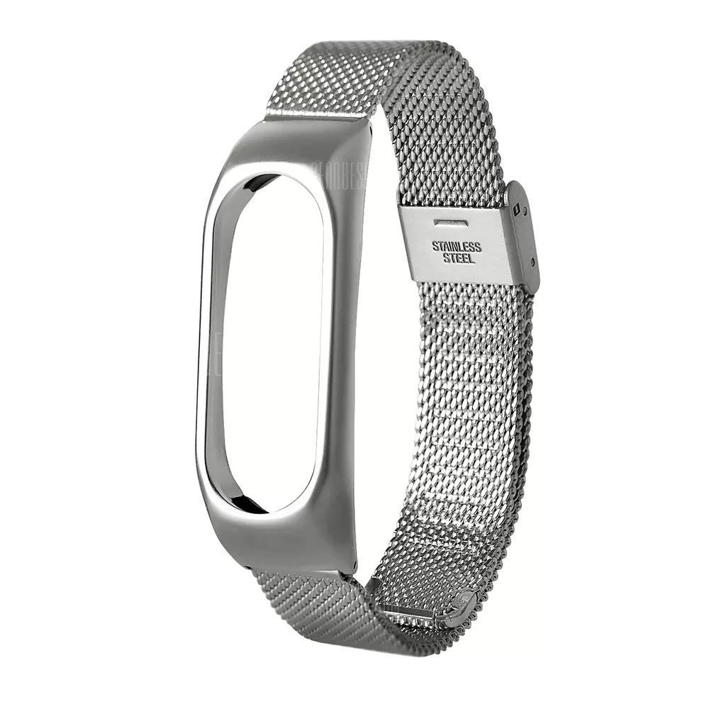 [GearBest] Silbernes Armband für Xiaomi Mi Band 2
