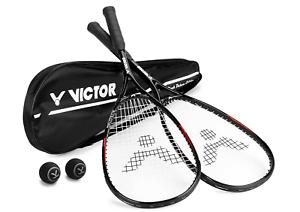 [Ebay] Squashset mit 2 Squashschläger BLACK DELUXE + 2 Squashballe + Schlägertasche für 23,99 (statt 29,99 €)