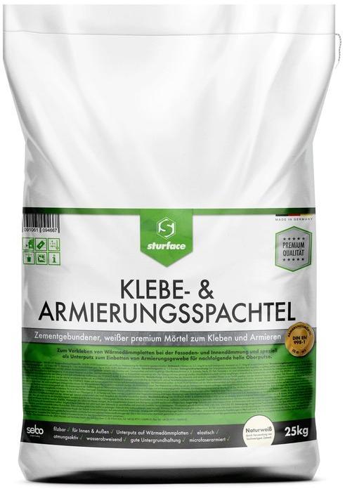 [Allyouneed] Sturface Trockenmörtel Klebe- & Armierungsspachtel Premium Plus 25kg [Preisfehler?]