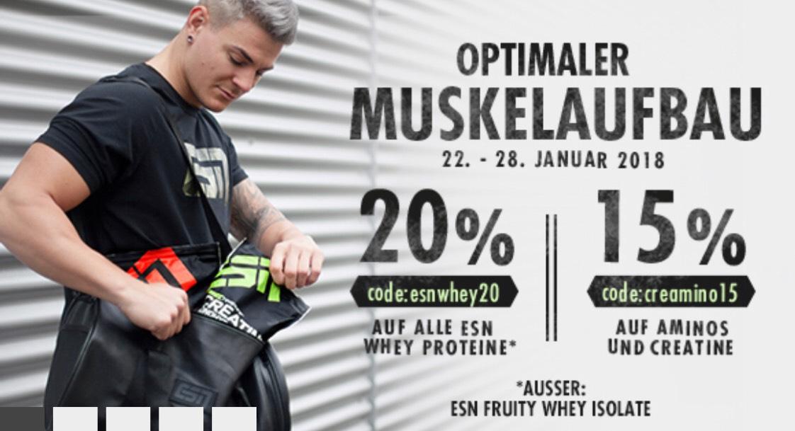 Designer Whey für max. 19,47€ | Rabattaktion bei Fitmart.de | 20% auf Proteine | 15% auf Aminos und Kreatin