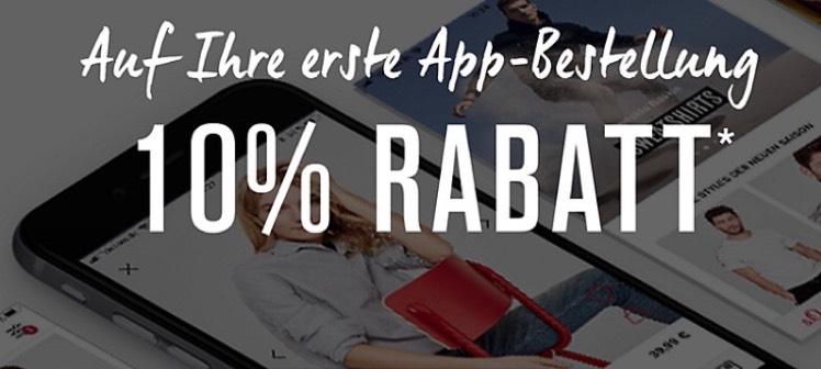 S.Oliver 10% Rabatt auf alles bei erstmaligem Einkauf über die App