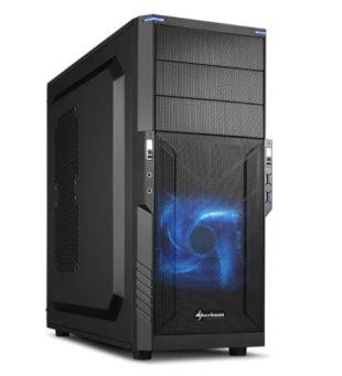 Entry Gaming PC mit Geforce 1050ti, Ryzen3-1200, 8GB RAM, 1TB HDD (inkl.Montage, Windows 10 Home und Versand)