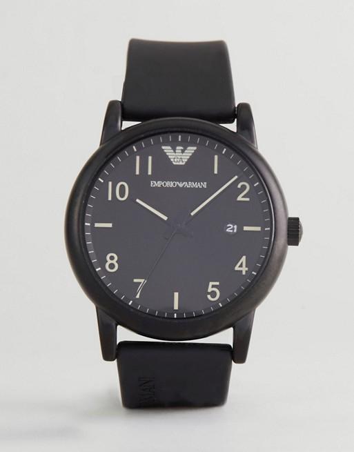 [ASOS] Emporio Armani – AR11071 – Schwarze Armbanduhr
