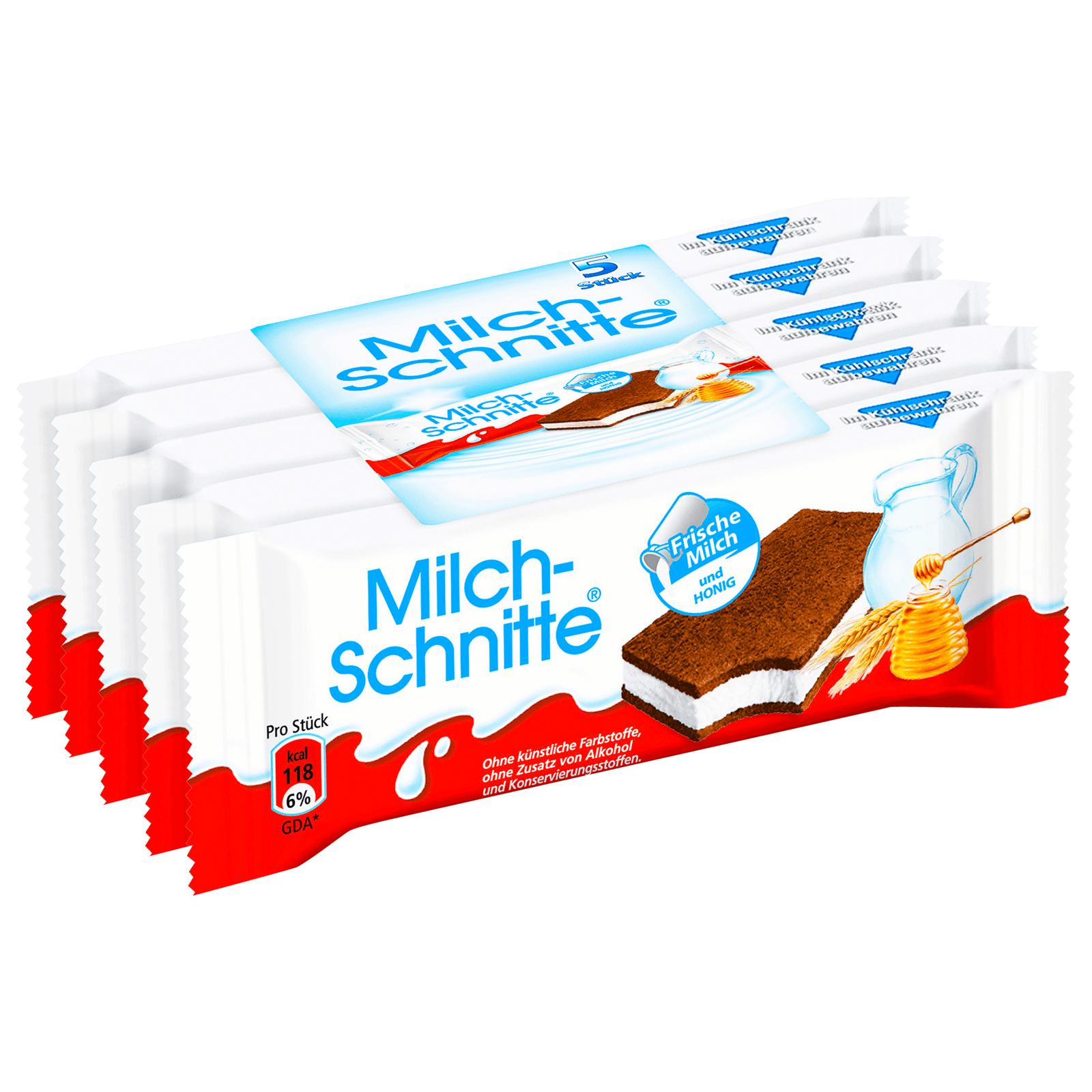 Sorry, 5er-/ nicht 4er-Packung Milch-Schnitte für nur 0,60€ bei Rewe dank Marktguru App